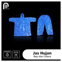 Jas Hujan Plastik HDPE Ponco | Baju Celana