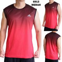 baju gym pakaian olahraga singlet tanpa lengan kaos olahraga