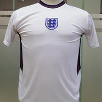 jersey kaos bola remaja anak tanggung inggris england putih euro