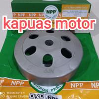 mangkok kampas kopling ganda otomatis npp beat scoopy vario 110 fi k25