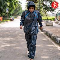 Jaket Sauna Pria Wanita Baju Pakaian Pemanas Badan Kettler Original