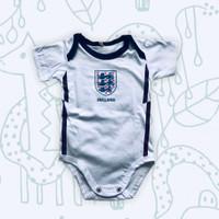 Baju Kaos Bola Bayi Anak Perempuan Laki Lucu I Jumper Inggris Home