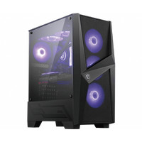 MSI MAG FORGE 101M - Mid Tower Gaming Case