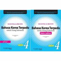 bahasa Korea Terpadu Untuk Orang Indonesia 4(1paket)