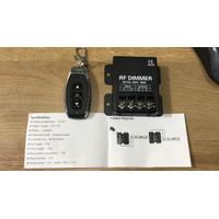 Dimmer lampu single color 5-24vdc + remote max load 30A