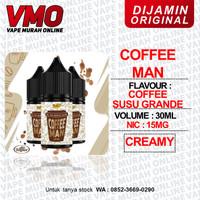 SALT SALTNIC COFFEE MAN COFFEMAN 30ML 20MG BY DR JUICE