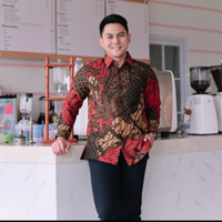 Baju Batik Pria Kantor Mewah Doby Lasem Furing Motif Sutra Tulis ATBM