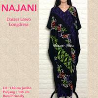 Daster jumbo batik wanita baju tidur adem nyaman GANDHES