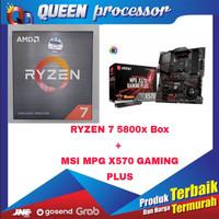 PROCESSOR AMD RYZEN 7 5800X 4.7GHz BOX+MSI MPG X570 Gaming Plus