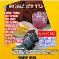 SUMAC TEA 100% SUMAC ANTI VIRUS,ANTI OKSIDAN,RADANG,BRONCHITIS DLL