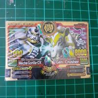 Animal Kaiser Mecha gorilla-DX VS Gen. Crusher Evo.8 ox