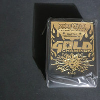 Animal Kaiser Vertical Battle Tournament Gold Champion Deck Box