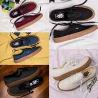 Sepatu Vans Authentic Gum Black/ Hitam Gum