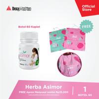 Herba Asimor Botol 60 Kapsul Asi Booster Pelancar Asi - FREE GIFT