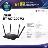 Router Asus RT-AC1200_V2 Dual band 5GHz with parental control