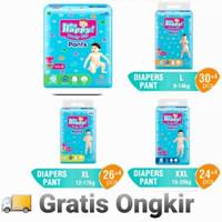 (GRATIS ONGKIR) Baby Happy Diapers Pants M 34+4   L 30+4