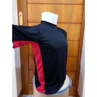 Nagrogstore Jersey Baju Kaos Olahraga Lengan Pendek Bahan Dry fit
