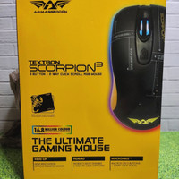 Mouse Gaming Armageddon Scorpion 3 4800 CPI Garansi 2 Tahun