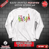 Team Dosan T-Shirt Baju Kaos Pria Distro Kekinian Quality Eksport xxl
