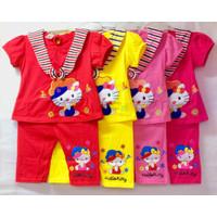[GROSIR] Baju setelan anak perempuan usia 1-2 Tahun-Hello Kitty Sailor