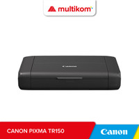 Canon PIXMA TR150 Battery Printer wifi Kecil Portabel wireless A4