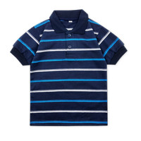 Wakakids Baju Atasan Kaos Polo Bayi Anak Laki Laki Striped Salur 3721
