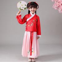 Baju anak impor dress frozen elsa merah qipao cheongsam chinese tahun