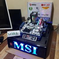 motherboard MSI Tomahawk arctic B350 Socket AM4 Ryzen Fullset