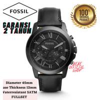 [ORIGINAL] Jam Tangan Pria Fossil FS5132 Grant Chronograph Black