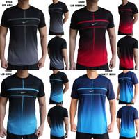 Kaos Olahraga Pria Nike 6902 Baju Gym Fitness Lari Cowok Training