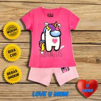 Loveumom Baju Setelan Anak Perempuan Murah Unicorn Among Us1-10 Tahun - 2 Tahun