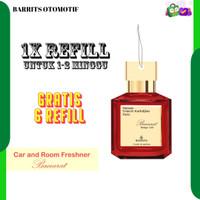 Parfum Mobil Gantung Kertas Baccarat Rouge 540 - Car Hanging Perfume