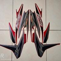 sticker striping lis honda vario techno 125 Fi 2013 warna merah