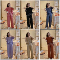 piyama import wanita / baju tidur kaos premium / setelan piyama wanita