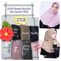 ZOYA Marsha Casual HB-HEIQ Bergo original/Hijab instan/Jilbab/kerudung