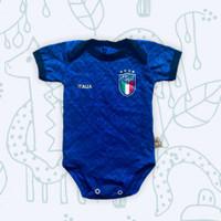 Baju Kaos Bola Bayi Anak Perempuan Laki Lucu I Jumper ITALY HOME EURO