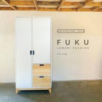Lemari Baju Anak Minimalis Jepang Jati Belanda FUKU