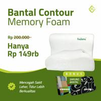 Bantal Memory Foam Anti Ngorok - Bantal Terapi Kesehatan