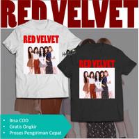 Red Velvet T-Shirt Kaos Photo Cover Irene Seulgi Wendy Joy Yeri