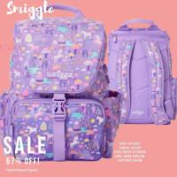 Kado Anak Original Tas Smiggle Backpack Junior Character chelsea Tas