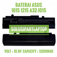 Baterai Asus Eee PC 1015 1015PED 1015PW 1015PEM A32-1015 Hitam