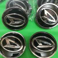 dop roda tutup as roda daihatshu xenia ring 15 chrome timbul