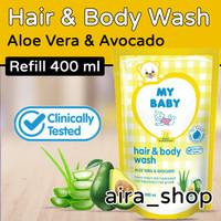 My Baby Hair & Body Wash 400 ml - Aloe Vera & Avocado