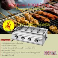 Pemanggang Stainless Gas 4 Tungku Getra BS-214