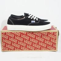 Sepatu Vans Authentic OG Black White Ivory - 37