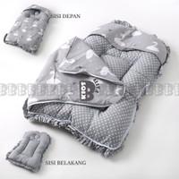 BABY SLEEPING BAG - KASUR TEMPAT TIDUR BAYI / SELIMUT TOPI KASUR BAYI