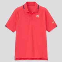 Baju Tenis Tennis Uniqlo Roger Federer Seri Roland Garros 2021 Merah