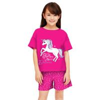 baju setelan anak perempuan model celana umur 6- 12 tahun/ baju model - L, FUNI80