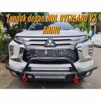 TANDUK DEPAN BUMPER BESI - ALL NEW PAJERO SPORT 2021 - RHINO GUARD