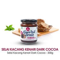 Selai Kacang Kenari Coklat (Kenari Nuts Spread Dark Cocoa)